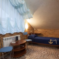 Мини-отель Бархат Номер Комфорт разные типы кроватей