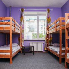 Хостел Достоевский Кровати в общем номере с двухъярусными кроватями фото 7