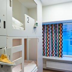 Хостел Graffiti L Кровать в общем номере с двухъярусной кроватью фото 2