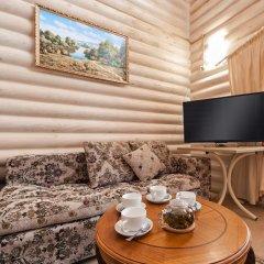 Эко-отель Озеро Дивное 3* Коттедж с различными типами кроватей фото 8