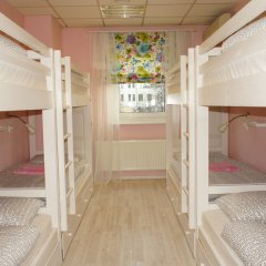 Гостевой Дом Полянка Кровать в женском общем номере с двухъярусными кроватями фото 3