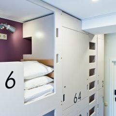 Хостел Graffiti L Номер с общей ванной комнатой с различными типами кроватей (общая ванная комната) фото 15