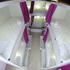 Гостиница HQ Hostelberry Кровать в общем номере двухъярусные кровати фото 22