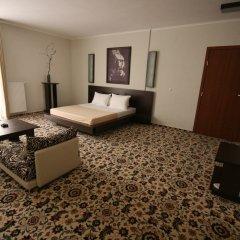 Гостиница Блюз Студия разные типы кроватей