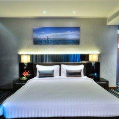 Отель The Continent Bangkok by Compass Hospitality 4* Улучшенный номер с различными типами кроватей фото 25