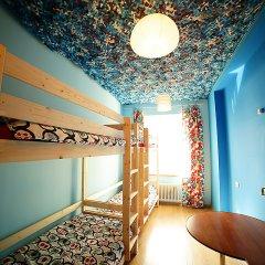 Хостел Ура рядом с Казанским Собором Кровать в мужском общем номере с двухъярусной кроватью фото 2