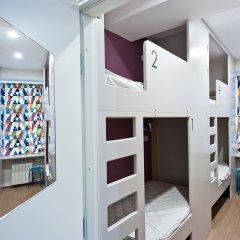 Хостел Graffiti L Номер с общей ванной комнатой с различными типами кроватей (общая ванная комната) фото 18