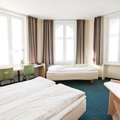 Good Morning + Copenhagen Star Hotel 3* Стандартный номер с различными типами кроватей фото 7