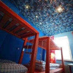 Хостел Ура рядом с Казанским Собором Кровать в общем номере с двухъярусной кроватью фото 4