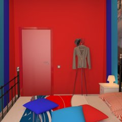 Hostel Racing Paradise Номер с общей ванной комнатой с различными типами кроватей (общая ванная комната) фото 3