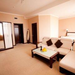 Гостиница Лазурный Алушта Люкс с различными типами кроватей фото 5