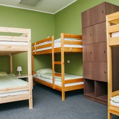 Хостел Достоевский Кровать в мужском общем номере с двухъярусными кроватями фото 6