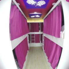 Гостиница HQ Hostelberry Кровать в общем номере двухъярусные кровати фото 6