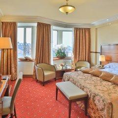 Гостиница Золотое кольцо 5* Номер Делюкс разные типы кроватей фото 3