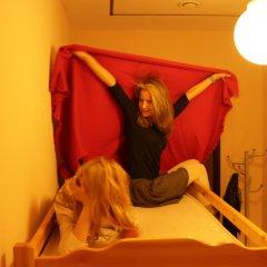 Хостел Бабушка Хаус Кровать в женском общем номере с двухъярусной кроватью фото 5