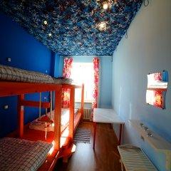 Хостел Ура рядом с Казанским Собором Кровать в общем номере с двухъярусной кроватью фото 2