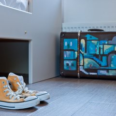 Хостел Graffiti L Кровать в мужском общем номере с двухъярусной кроватью фото 6