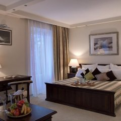 Гостиница Голубая Лагуна Студия разные типы кроватей фото 3