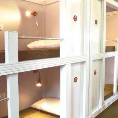 Хостел Привет Кровать в общем номере двухъярусные кровати фото 17