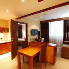 Гостиница DoubleTree by Hilton Novosibirsk 4* Люкс разные типы кроватей фото 2
