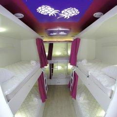 Гостиница HQ Hostelberry Кровать в общем номере двухъярусные кровати фото 10