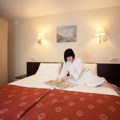 Гостиница AMAKS Центральная Номер Бизнес разные типы кроватей фото 8