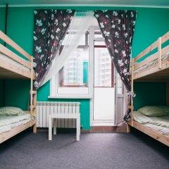 Хостел Достоевский Кровати в общем номере с двухъярусными кроватями фото 11
