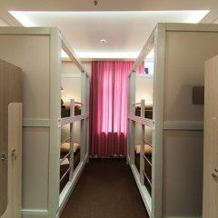 Хостел Привет Кровать в мужском общем номере двухъярусные кровати фото 3
