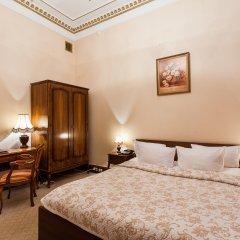 Легендарный Отель Советский 4* Улучшенный номер двуспальная кровать