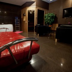 Мини-Отель Новый День Люкс разные типы кроватей
