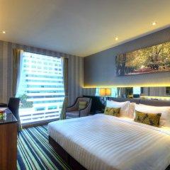 Отель The Continent Bangkok by Compass Hospitality 4* Номер Делюкс с различными типами кроватей фото 9