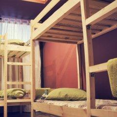 Хостел Полянка на Чистых Прудах Номер с различными типами кроватей (общая ванная комната) фото 9