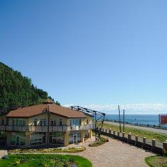 Гостиница Подлеморье Листвянка пляж фото 2