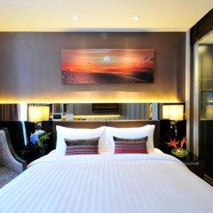 Отель The Continent Bangkok by Compass Hospitality 4* Улучшенный номер с различными типами кроватей фото 10