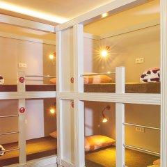 Хостел Привет Кровать в общем номере двухъярусные кровати фото 16