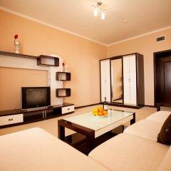 Гостиница Лазурный Алушта Люкс с различными типами кроватей фото 8