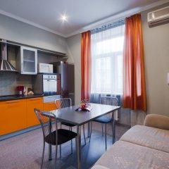 Апартаменты LikeHome Апартаменты Тверская Студия Делюкс разные типы кроватей фото 18