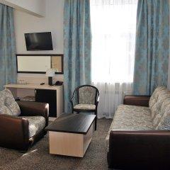 Гостиница Золотой Колос Студия Делюкс разные типы кроватей фото 2