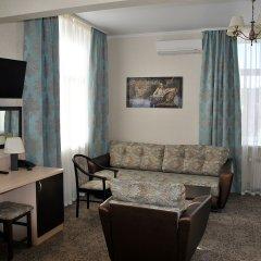 Гостиница Золотой Колос Студия Делюкс разные типы кроватей фото 3
