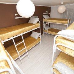 Гостиница Avrora Centr Guest House Кровать в общем номере с двухъярусной кроватью