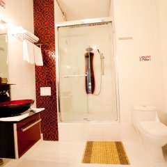 Гостиница Лазурный Алушта Люкс с различными типами кроватей фото 14