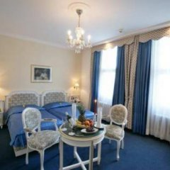 TOP Hotel Ambassador-Zlata Husa 4* Стандартный номер с разными типами кроватей фото 20