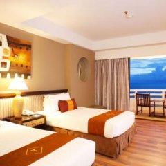 Отель D Varee Jomtien Beach 4* Номер Делюкс с различными типами кроватей фото 17
