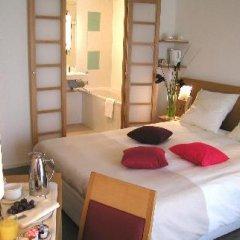 Отель Novotel Paris Les Halles 4* Улучшенный номер с различными типами кроватей фото 8