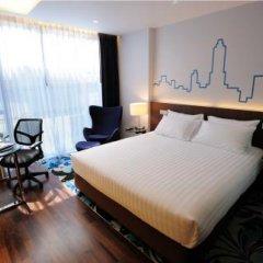 Отель Galleria 10 Sukhumvit Bangkok by Compass Hospitality 4* Стандартный номер с различными типами кроватей фото 13
