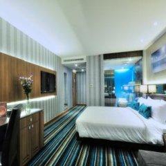 Отель The Continent Bangkok by Compass Hospitality 4* Представительский номер с различными типами кроватей фото 46