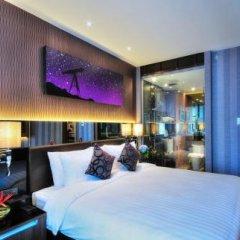 Отель The Continent Bangkok by Compass Hospitality 4* Номер Делюкс с различными типами кроватей фото 19