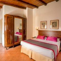 Отель Albergo Del Sole Al Biscione 3* Стандартный номер с различными типами кроватей