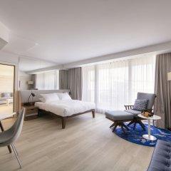 Radisson Blu Hotel, Nice 4* Люкс с двуспальной кроватью