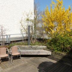 GHOTEL hotel & living München-Nymphenburg терраса/патио